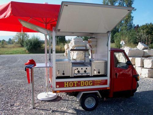 Ape 750 HotDog Mobil