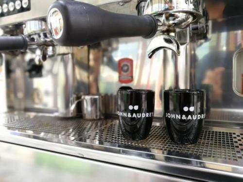 Promotion Kaffeemobil für John & Audrey Bochum