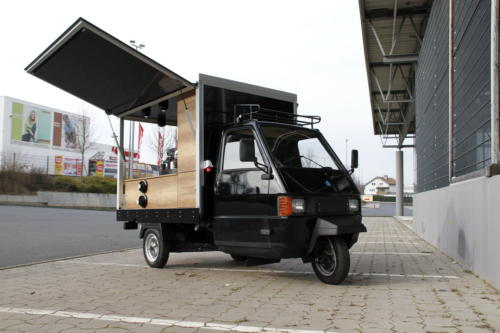 APE TM 703 Promotion Mobil für Kapselsysteme und Espressomaschinen.