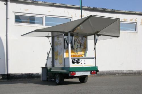 Ape750 Mini Biermobil