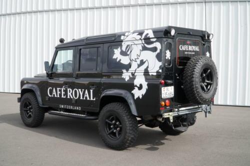 Der neue Defender von Café Royal