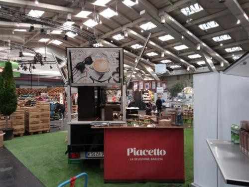 Das Schira Espressomobil im Einsatz für Piachetto