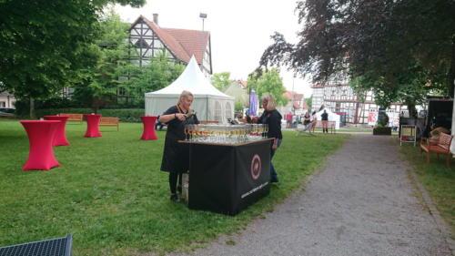 Mit dem Ape kaffeemobil auf dem Hessentag 2018 in Korbach