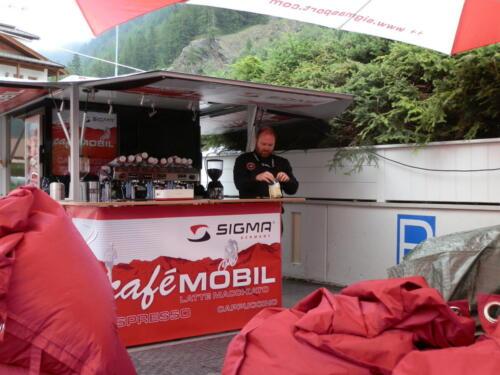 Die Sigma Tuor Trans Apl mit Schira Café