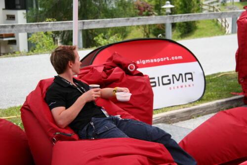 Sigma Tour Trans Apl 2013 mit dem Barista Schira Café Mobil.