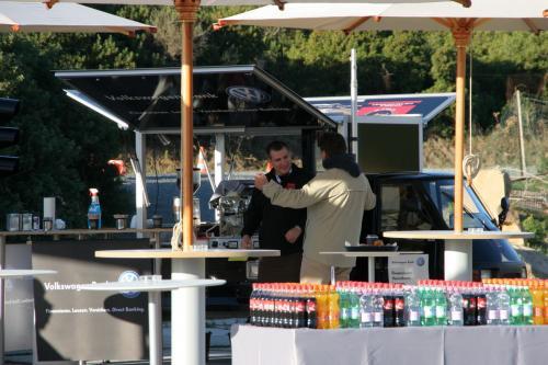 Ape Kaffeemobil in Sardinien
