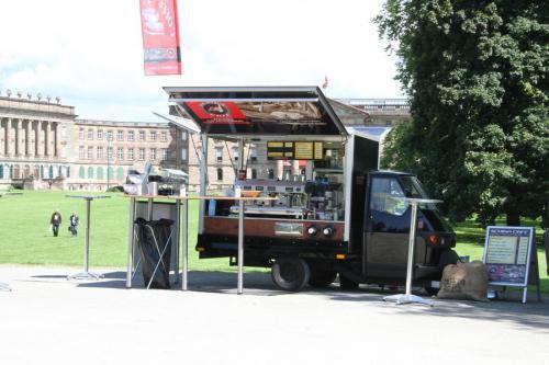Ape1200 Kaffeemobil im Bergpark Kassel