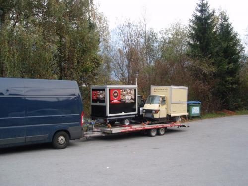Ape1200 Espressomobil für VW in Sardinien