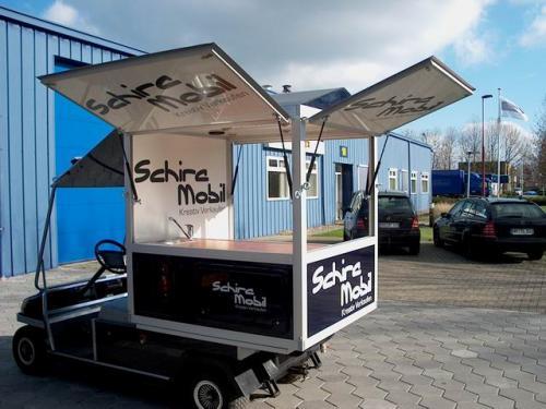 Club Car E Mobil - Kaffeemobil