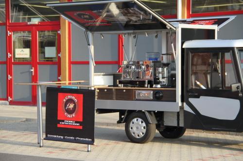 Melex 200-C Elektromobil und Cafémobil