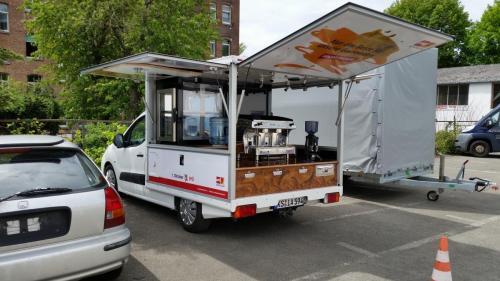 SPÖ Kaffeemobil für Östereich