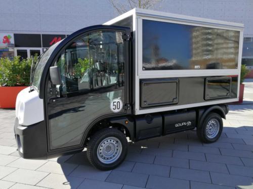 Polaris G4 Goupil Cafémobil, das neue Elektromobil