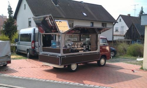 VW T2 Kaffeemobil