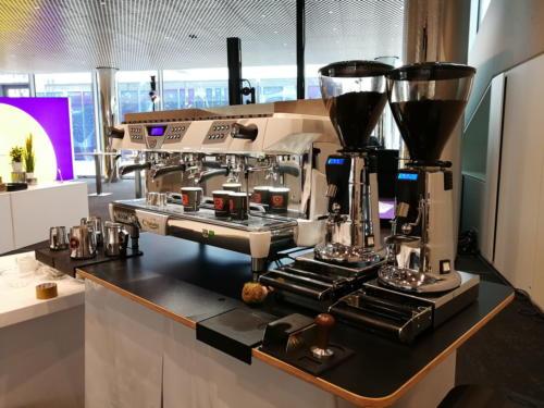 Mobile Espressotheke  mit Astoria Kaffeemaschinen.