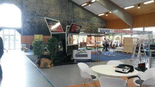 Mensing Imobilien Messe mit Schira Cafe