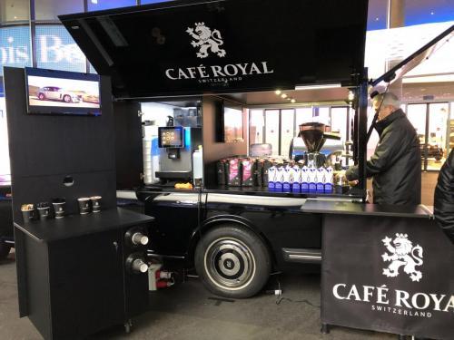 Der Rolls Royce von Café Roya